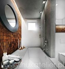 """Łazienki kojarzą się z ceramicznymi płytkami, specjalną farbą, która """"ni..."""