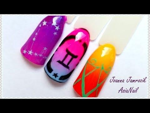 BLIŹNIĘTA - Znaki zodiaku #6    AsiaNail