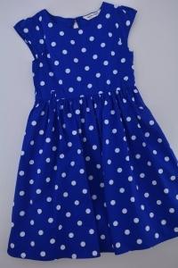 Sukienka w grochy. Nowa dostawa odzieży dziecięcej. Klik.