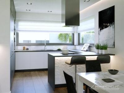 Aranżacja Kuchni Domu Homekoncept 43 Na Inspiracje Home