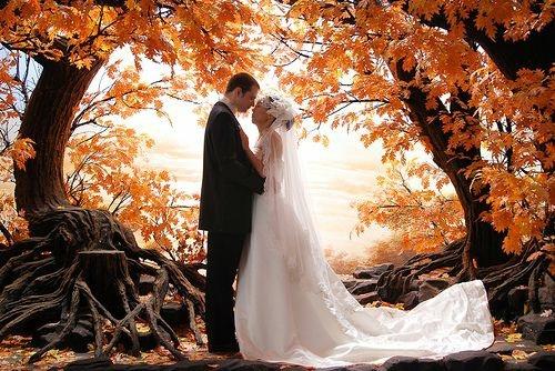 Ślub jesienia co myślicie o ślubie jesienią