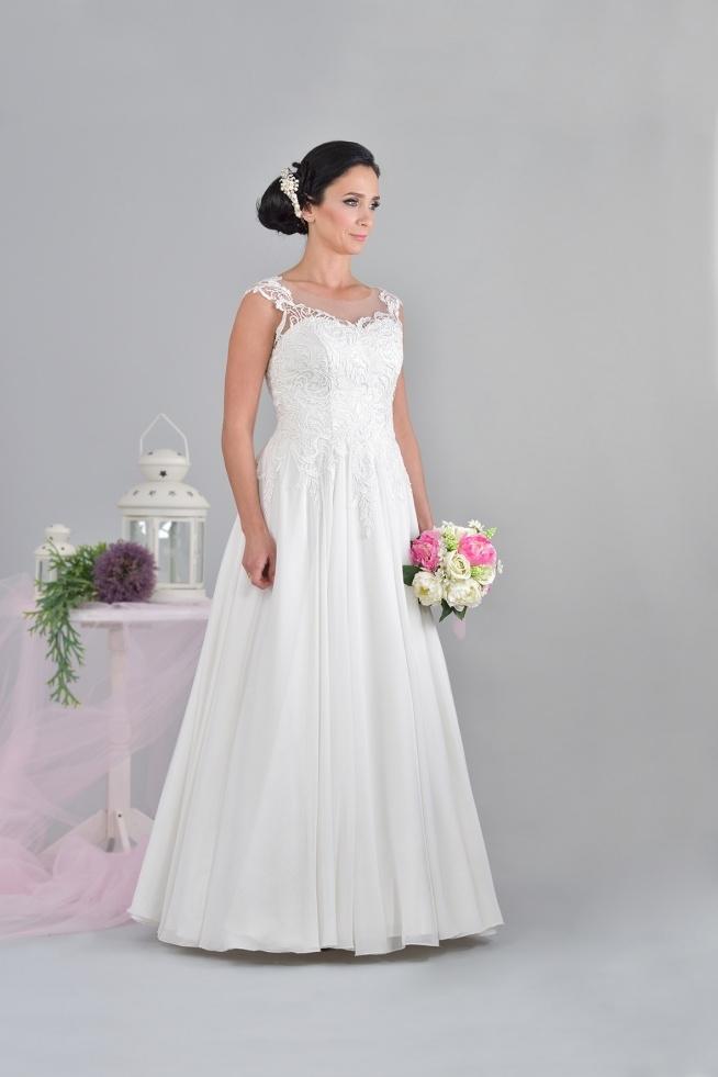 Klasyczna Suknia ślubna O Kroju Litery A Virginia Na Suknie