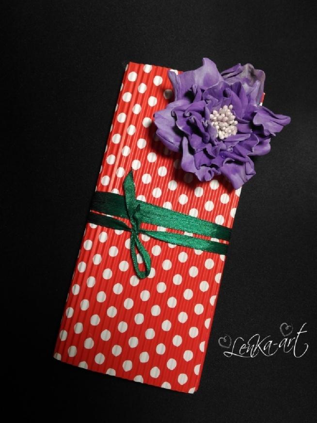 czekoladownik róża ręcznie wykonaną z foamiranu