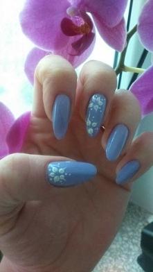Osobiście wykonane :-) i zapuszczone  #long #nails #beautiful