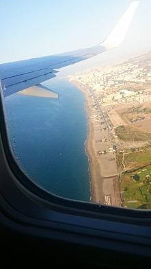 Hiszpania, widok z samolotu