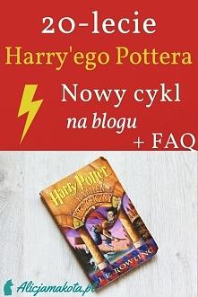 20-lecie Harry'ego Pottera [KLIK] - ciekawostki, cytaty, humor
