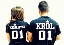Super koszulki dla par. Zapraszam na link w komentarzu.
