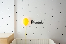 DIY imię dziecka nad łóżecz...