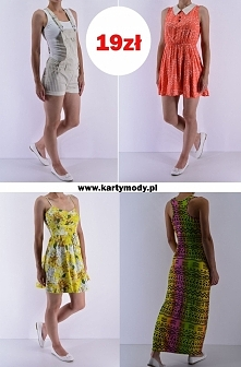 Secondhand online kartymody.pl - Promocja! Sukienki, tuniki, spodenki... Spra...