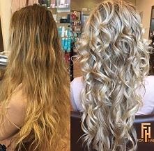 zmiana na bardziej chłodny blond