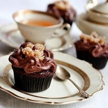 German chocolate turle cupc...