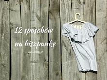 Jak uszyć sukienkę hiszpankę - jak uszyć bluzkę i top - noszki.pl