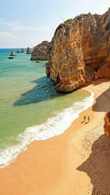 Ponta da Piedade en algarve Portugal