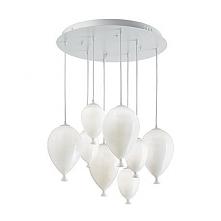 CLOWN SP8 100883 IDEAL LUX LAMPA WISZCA BIAŁA  Bardzo nowoczesna lampa wiszaca wykonana ze szkła. Unikalny kształt i prostota sprawia,że lampa pasuje do wielu nowoczesnych wnętrz.