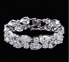 LUKSUSOWA BRANSOLETKA 4Tempora Original Wysokiej jakości biżuteria ślubna i w...
