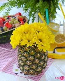 Ananasowy wazon DIY. - zoba...