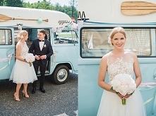 Dorota i Patryk. Błękitno - różowy ślub w Laskowie.  Cały reportaż na blogu M...