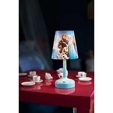 """FROZEN 71796/08/16 Philips lampka stołowa  Na tej opracowanej przez firmy Philips i Disney przenośnej lampie stołowej widnieją ulubione postacie Twojego dziecka z filmu """"Kraina ..."""