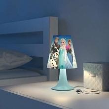 """FROZEN 71795/35/16 Philips lampka stołowa  Na tej opracowanej przez firmy Philips i Disney kolorowej lampie biurkowej widnieją postacie z filmu """"KRAINA LODU"""". Lampa pomaga zapew..."""
