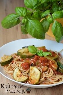 Expresowe spaghetti z cukin...