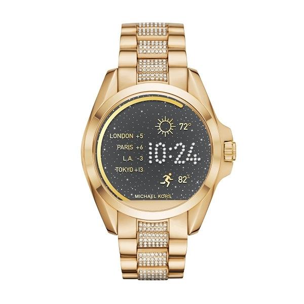 Michael Kors MKT5002  nowość ! Smartwatch unisex dla kobiet w kolorze złotym na stalowej bransolecie, wielofunkcyjny z dotykowym wyświetlaczem. Więcej na naszej stronie, link w komentarzu :)