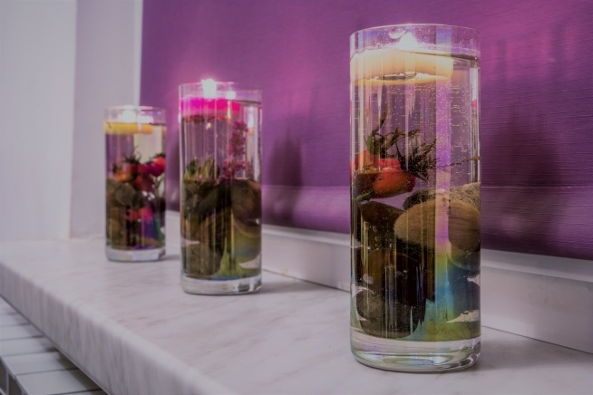 Pływające świeczki