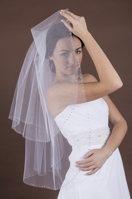 welon z kryształkami, ślub