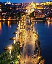 Praga, Czechy  Most Karola