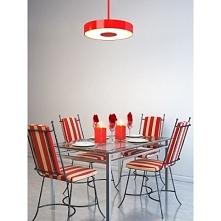 Carina to seria stylowych opraw  marki Cleoni, wykonana ze stali i białego sz...