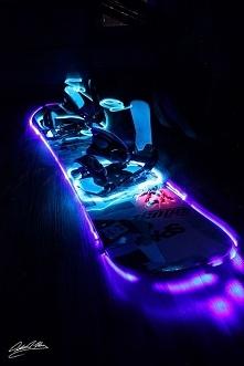 Lighting snowboard - w sam ...