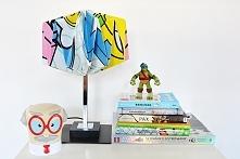 Lampa Origami w nowoczesnym...