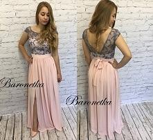 Venus.Piękna długa suknia o...