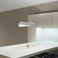 ZIG ZAG cm 57 Linea Light 6991 lampa wisząca biała