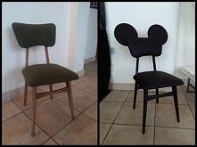 odnowienie starego krzesła