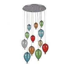 CLOWN SP12 100951 IDEAL LUX LAMPA WISZCA KOLOR  Bardzo nowoczesna lampa wiszaca wykonana ze szkła. Unikalny kształt i prostota sprawia,że lampa pasuje do wielu nowoczesnych wnętrz.