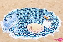 Jak uszyć okrągły pled na plażę? Konkurs idealny na wakacje! - Twoje DIY