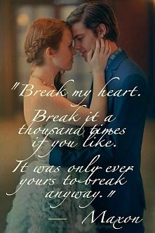 Złam moje serce...