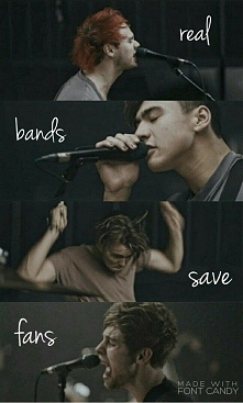 Real fans save bands *.*