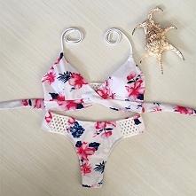 Hawajski strój kąpielowy, sexy bikini ;) Kliknij w zdjęcie i zobacz gdzie kupić!