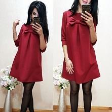 Elegancka sukienka na rodzinne i świąteczne spotkania ;) Kliknij w zdjęcie i ...