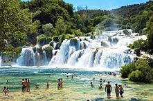 Wodospad Krka- Chorwacja :)