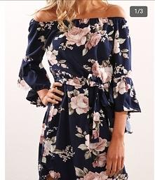 śliczna sukienka  dostępna na :chicme, jakby ktoś szukał. :)