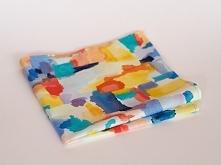 Poszetka Malowane Farbami - Muchotwory