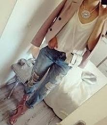 Stylizacja boska  Spodnie genialne ❤