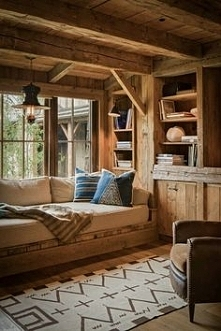 Ultimate cabin window seat!  by canellashop