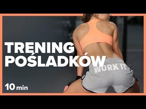 GYM BREAK - 10 min TRENING POŚLADKÓW | Szymon Gaś & Katarzyna Kępka