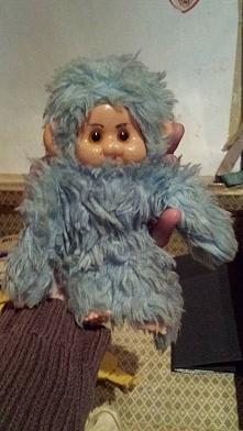 Odpustowa małpka, mojej osobistej zdjęlam skalp i miałam łysą z kapturem :)