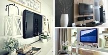 Jak zaaranżować ścianę z telewizorem? (kliknij w zdjęcie.)