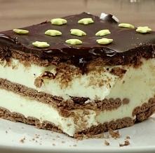 Domowe ciasto Milky Way bez...