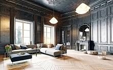 wnętrza w stylu francuskim  Eleganckie, przestronne i słoneczne pomieszczenia...